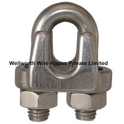 Stainless Steel Wire Rope Clamp Grip