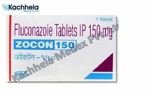 Zocon 150 tablets side by side