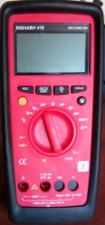RISHABH Multimeter Model: 410