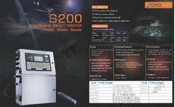 GHQ INKS200 Codpad Cij Inkjet Printer Batch Coding