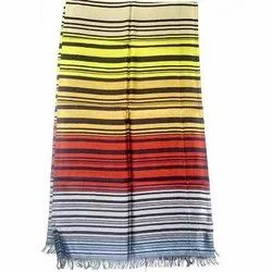 Multicolored Silk Blended Shawls