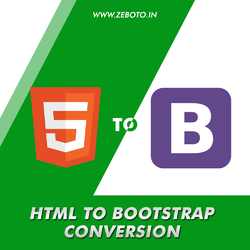 HTML To Bootstrap Conversion