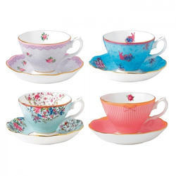 Tea Cup With Saucer Set