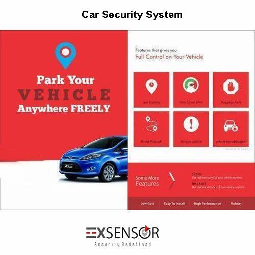 One Way Car Alarm System 838t