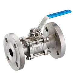 3pcs Design Flange End Ball Valves