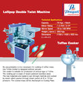 Lollipop Making Machine