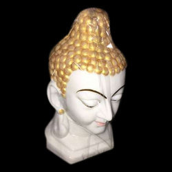 White and Golden Buddha Statue