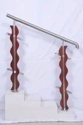 Modern Curved Baluster