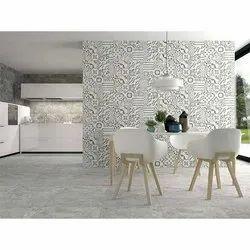 Ceramic Kajaria Modern Kitchen Wall Tile, Thickness: 5-10 mm