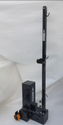 Badminton Pole Movable Square Black