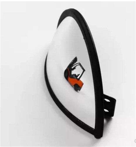 Forklift Truck Mirror Wide Angel Mirror, Size: 7 inch