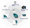 Compact Auto Scrubber Dryer NACS PRO