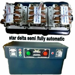 Three 7.5 Hp To 15 Hp Oil Immersed Star Delta Semi Automatic Motor Starter, Voltage: 180-440 V