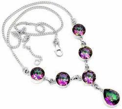 Mystic Topaz Necklaces
