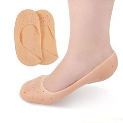 Silicon Socks for Foot Care and Heel Cracks