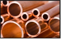 Brown Round And Oval Copper Pipes, Application:Water Heater