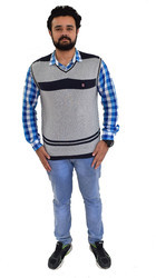 Plain And Multi Polyester Half Sleeve Sweaters