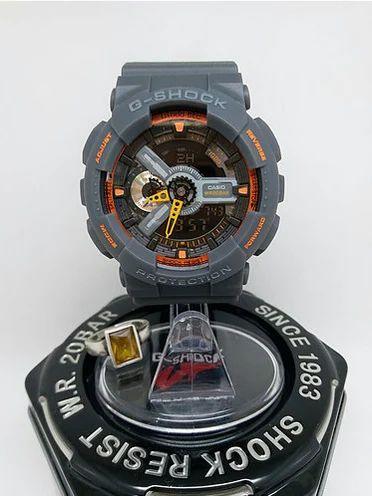 7210ae2f653b Casio G-shock Orange Analog Digital Watch