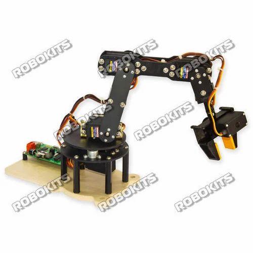 Robotic Arm 6 Dof Diy Kit With Usb Servo Controller And Software