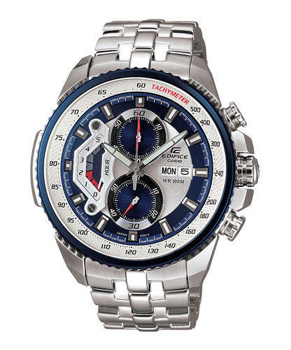 f782b9386 Casio Edifice EF-558D-2AVDF (ED437) Chronograph Men's Watch, Gents ...