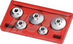 JTC  5pcs Oil Filter Socket Set
