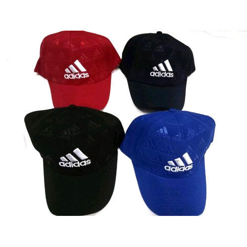Black And Red Adidas Sports Cap aab12461c38
