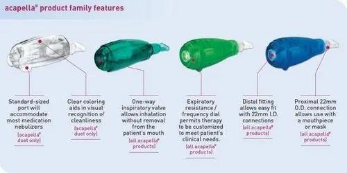 Acapella Choice Vibratory PEP Therapy System & Non Invasive