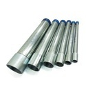 Round & Square Hot Dip Galvanized Pipes, Size: 1/2