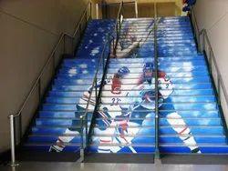 Stairs Branding