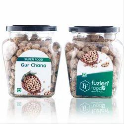 Fuzion Foodz Gur Chana, Packaging Type: Bottle, Packaging Size: 150g