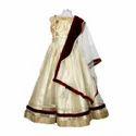 Net And Silk Wedding Wear Girls Silk Lehenga Choli