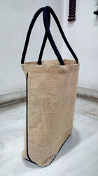 Dyed Piping Jute Bag