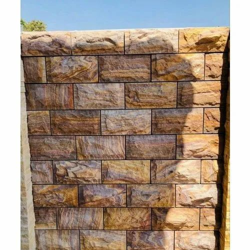 Designer Outdoor Stone Wall Cladding Packaging Type Cartoon Box Size 6 X 10 Inch Rs 25 Foot Id 21971956273
