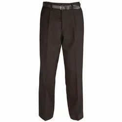 Boy Cotton Black Trousers