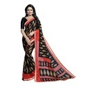 Exclusive Georgette Saree With Lace