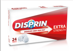 Disprin Extra Strength Tablet, Packaging Type: Box