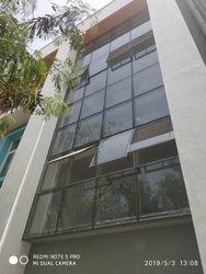 Elevation Toughened Glass Work