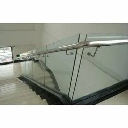 Stair Aluminum Glass Railing