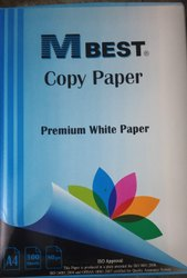 White M Best A4 Size Copy Paper, For Print, GSM: Less than 80