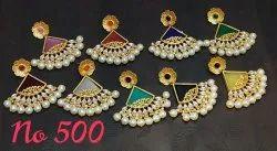 Kundan Stone Earring