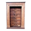 Brown Teak Wooden Doors