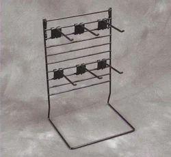 Double Display Cloth Rack Shelving Counter