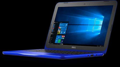 White Dell Inspiron 11 3000 Non Touch Laptop | ID: 16668349055