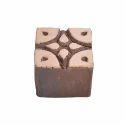 Square Wooden Printing Block