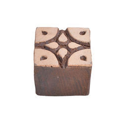 Square Wooden Printing Block