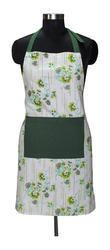 Flower Design Printed Apron