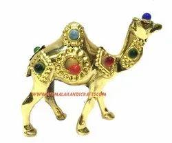 Brass Camel Stone Work