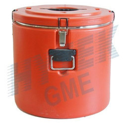 Insulated Food Container (Round, 52 Ltr.)