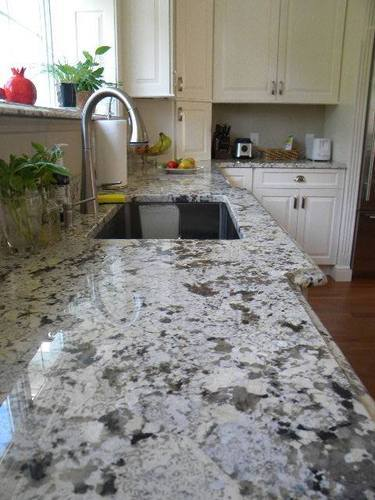 Alaska White Flooring Granite Size
