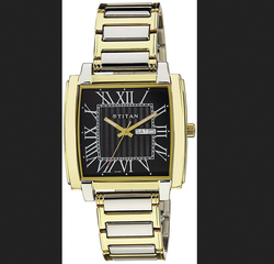 Titan 1586BM02 Dial Analog Mens Watch